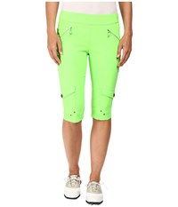 Jamie Sadock Skinnylicious 24 In. Knee Capri Kryptonite Green Women's Capri