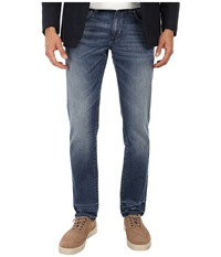 Dkny Williamsburg Jeans In Jadeite Medium Indigo Wash Jadeite Medium Indigo Wash Men's Jeans Blue