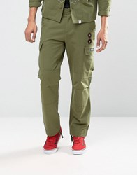 Billionaire Boys Club Cargo Trousers Olive Green