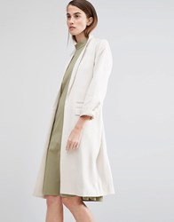 Selected Miriam Belted Coat Beige