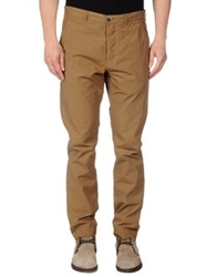 Msgm Casual Pants Yellow