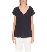 James Perse Loose Fit Cotton Jersey T Shirt Constellations
