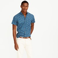 J.Crew Short Sleeve Shirt In Navy Floral