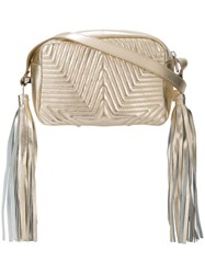 Golden Goose Deluxe Brand 'Brigitte' Crossbody Bag Metallic