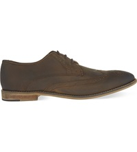 Kg By Kurt Geiger Rossi Leather Derby Shoes Tan