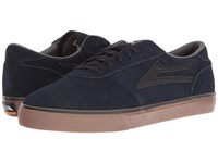 Lakai Manchester Select Navy Gum Suede Men's Skate Shoes