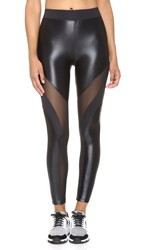 Koral Activewear Frame Leggings Black Black