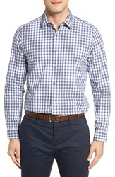 Robert Barakett Men's Bradley Check Sport Shirt