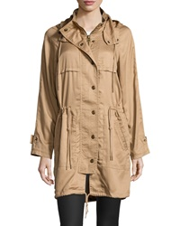 Raison D'etre Anorak Hooded Jacket Brit Khaki