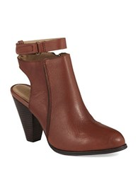 Kenneth Cole Reaction Peg Rest Booties Brown