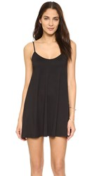 Susana Monaco Very V Drape Dress Black