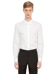 Givenchy Barbed Wire Embroidered Poplin Shirt