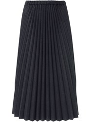 Chalayan Pleated Midi Skirt