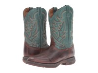 Laredo Barnes Chocolate Turquoise Cowboy Boots Brown