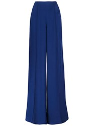 Adam By Adam Lippes Adam Lippes High Waist Palazzo Trousers Blue