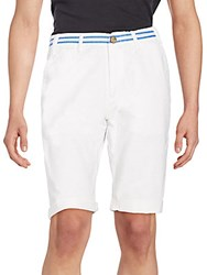 Prps Chase Cotton Shorts White