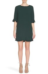 Women's Cece By Cynthia Steffe 'Kate' Ruffle Hem Shift Dress