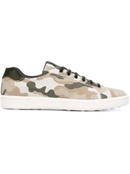Car Shoe Camouflage Sneakers Nude And Neutrals
