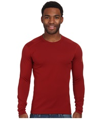 Arc'teryx Phase Sv Crew L S Oxblood Men's Long Sleeve Pullover Red