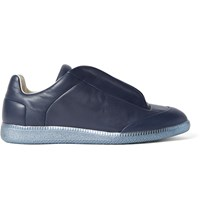 Maison Martin Margiela Future Leather Sneakers Blue