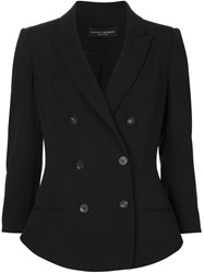 Narciso Rodriguez Double Breasted Blazer Black