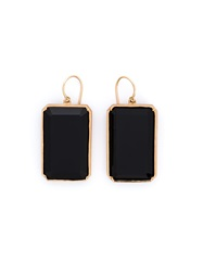 Irene Neuwirth 18Kt Rose Gold Onyx Drop Earrings Metallic