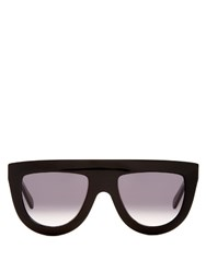 Celine Sunglasses Shadow Flat Top Sunglasses Black
