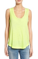 Women's Splendid 'Vintage Whisper' Drapey Scoop Neck Tank