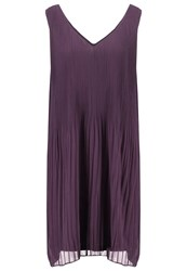 Minimum Lisse Summer Dress Plum Perfect Dark Purple