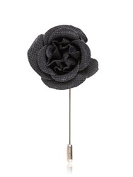 Lanvin Piquet Rose Pin