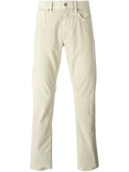 Incotex Slim Fit Jeans Nude And Neutrals