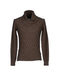 Hamaki Ho Sweaters Dark Brown