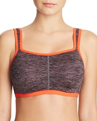 Natori Sports Bra Yogi Contour Convertible 731050 Graphite Heather Print