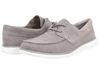 Ugg Catton Seal Canvas Men's Slip On Shoes Gray