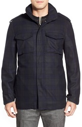 3 In 1 Plaid Wool Jacket With Detachable Vest Climber