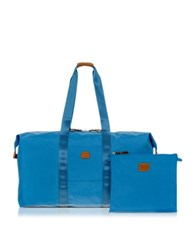 Bric's X Bag Large Foldable Last Minute Holdall In A Pouch Cornflower
