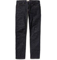 Simon Miller M002 Slim Fit Dry Selvedge Denim Jeans Blue