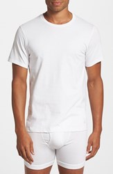 Men's Big And Tall Calvin Klein Cotton Crewneck T Shirt White