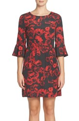 Cynthia Steffe Women's Ava Print Sheath Dress