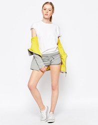 Bench Jersey Shorts With Tie Front Grey