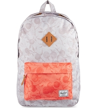 Herschel Supply Co Heritage Classic Backpack Grey Orchard Red Orchard