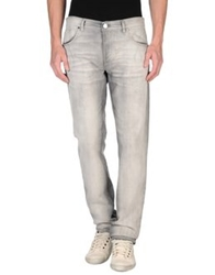 Les Hommes Denim Pants Light Grey