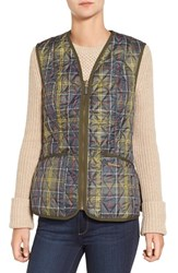 Barbour Women's 'Betty' Tartan Print Quilted Liner