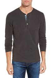 Faherty Men's Slub Cotton Henley