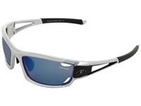 Tifosi Optics Dolomite 2.0 Interchangeable Metallic Silver Smoke Blue Ac Red Clear Lens Sport Sunglasses
