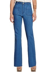 Women's Vince Camuto Stretch Denim Flare Leg Pants
