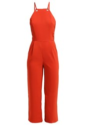 Glamorous Jumpsuit Rust Red