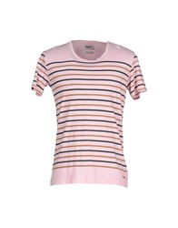 Red Soul Topwear T Shirts Men Light Pink