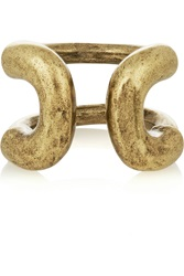 Giles And Brother Cortina Burnished Gold Tone Ring