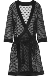 Mimi Holliday Rockhopper Penguin Polka Dot Lace Robe